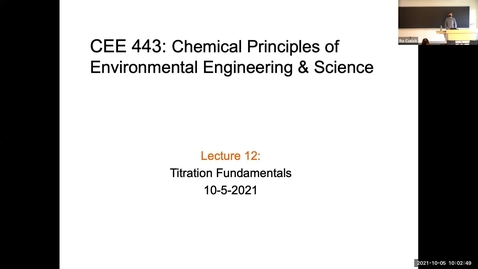Thumbnail for entry CEE 443 Lecture