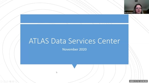 Thumbnail for entry Discovering & Accessing Your Data - ATLAS DSC - Fall 2020 IT Pro Forum