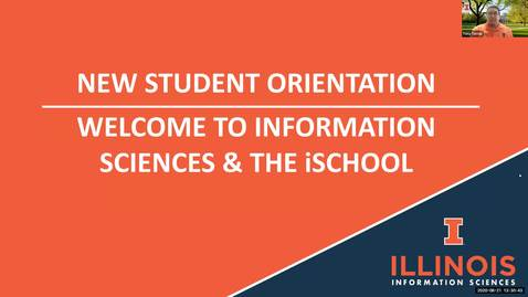Thumbnail for entry iSchool BSIS New Student Welcome Orientation