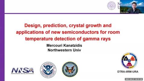 Thumbnail for entry NPRE 596 Seminar in Nuclear Sci & Engrg: Mercouri Kanatzidis