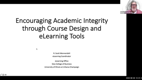 Thumbnail for entry Academic Integrity Strategies and Tools