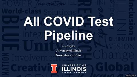 Thumbnail for entry ACT - All COVID Test Pipeline - Fall 2020 IT Pro Forum