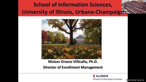 Thumbnail for entry iSchool Graduate Programs Overview