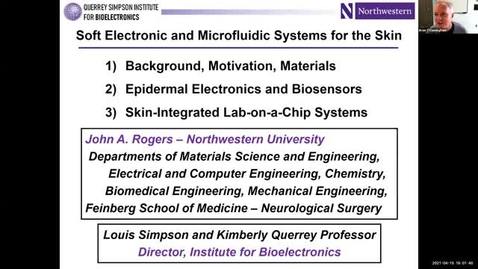 Thumbnail for entry John Rogers Colloquium: Soft Electronic and Microfluidic Systems for the Skin