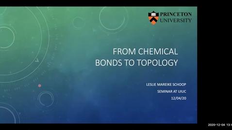 Thumbnail for entry Condensed Matter Seminar - Leslie Schoop, Princeton University