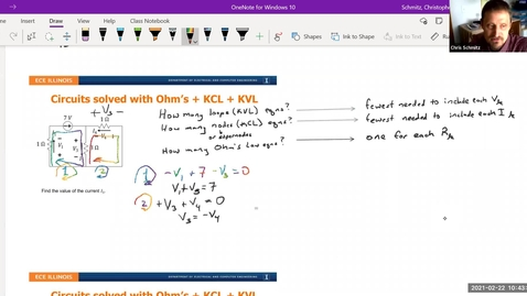 Thumbnail for entry Lecture 8 - Circuit Analysis Exercises