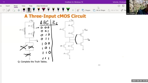 Thumbnail for entry Lecture 25 - cMOS