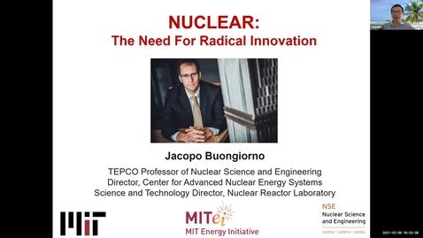 Thumbnail for entry NPRE 596 Seminar in Nuclear Sci & Engrg: Jacopo Buongiorno