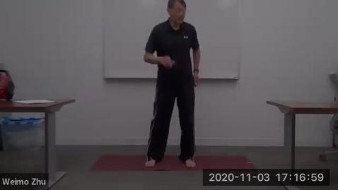 Thumbnail for entry Fall 2020: Qigong Class Series- November 3, 2020