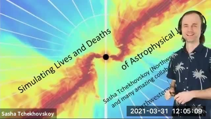 Thumbnail for channel Astro/Gravity/Cosmology seminar