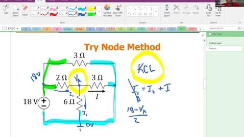 Thumbnail for entry Lecture 14 Node Method - Schmitz