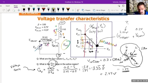 Thumbnail for entry Lecture 22 - Voltage Amplifier