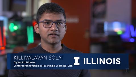 Thumbnail for entry The Illinois Professional: Killivalavan Solai