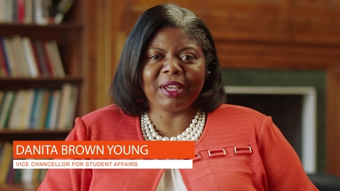 Thumbnail for entry Vice Chancellor for Student Affairs: Danita Brown Young