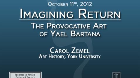 Thumbnail for entry Imagining Return: The Provocative Art of Yael Bartana
