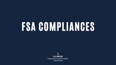 Thumbnail for entry FSA-Compliances