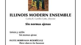 Thumbnail for entry Tania León and the Illinois Modern Ensemble