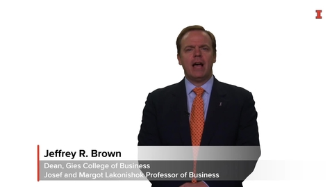 Thumbnail for entry Gies College of Business Values