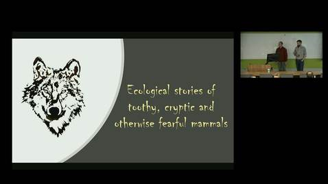 Thumbnail for entry NRES 500 Fall 2018 - Dr. Jared Duquette - Ecological Stories of Toothy, Cryptic, and Otherwise Fearful Mammals