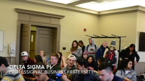 Thumbnail for entry Delta Sigma Pi