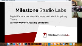 Thumbnail for entry Presentation by Michal Kabatznik - Co founder of Milestone Labs