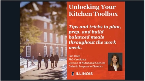 Thumbnail for entry Unlocking Your Kitchen Toolbox