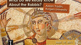 Thumbnail for entry What Do We Really Know About The Rabbis?