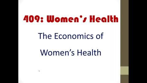 Thumbnail for entry Economics of women health_2