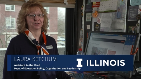 Thumbnail for entry The Illinois Professional: Laura Ketchum
