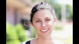Thumbnail for entry Internship – Community & Economic Development at Unit 7 Extension – Haley Haverback