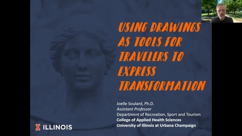 Thumbnail for entry Using Drawings as Tools for Travelers to Express Transformation (EUC Spring Brown Bag Lecture Series)