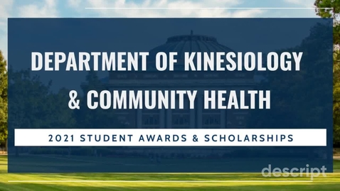 Thumbnail for entry KCH Scholarship Video - CC
