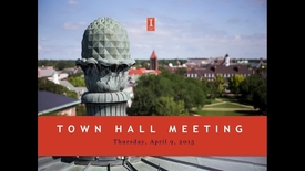 Thumbnail for entry Town Hall Meeting 2015