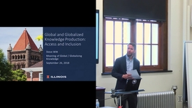 Thumbnail for entry 2018-9-26 - Debate on the Meaning of Global-Globalizing Knowledge