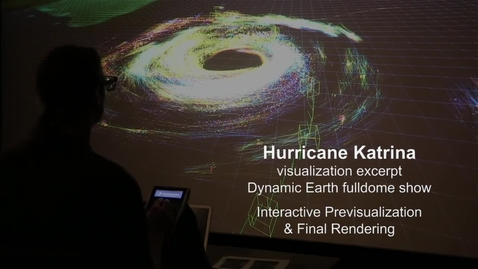 Thumbnail for entry Hurricane Katrina Interactive Previsualization & Final Rendering
