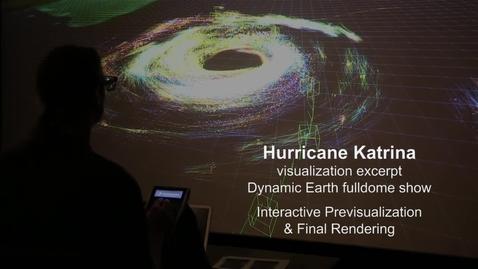 Thumbnail for entry Hurricane Katrina Interactive Previsualization & Final Rendering