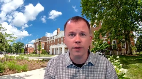 Thumbnail for entry Week 1 - Welcome to GS 101 for Fall 2020 - Dr. Daniel Turner, DGS Director