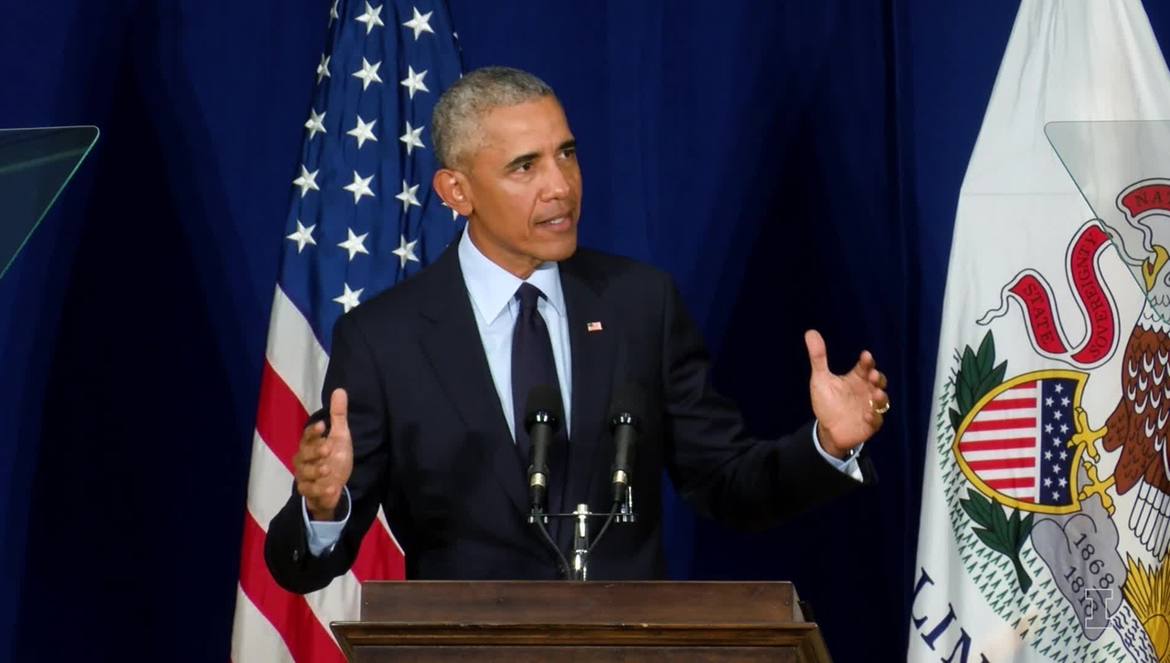 President Barack Obama Speech at the University of Illinois