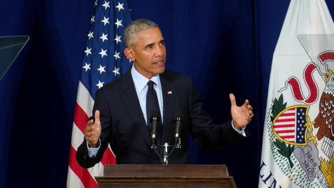 Thumbnail for entry President Barack Obama Speech at the University of Illinois
