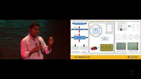 Thumbnail for entry 2017 Research Live! Finalist: SreeKalyan Patiballa - Auxetics Materials & Pizza