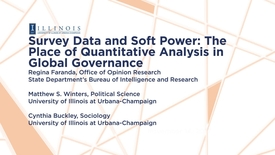 Thumbnail for entry 2017-11-14 - Survey Data and Soft Power