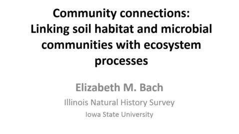 Thumbnail for entry NRES 2015 Spring Seminar Series - Elizabeth M. Bach