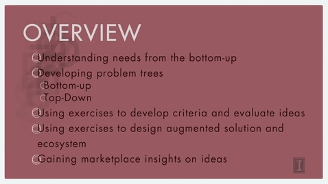 Thumbnail for entry Evaluating Solutions and Designing Ecosystems