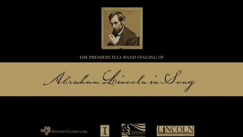Thumbnail for entry Abraham Lincoln in Song: Chris Vallillo