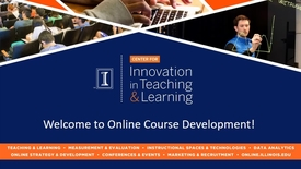 Thumbnail for entry Welcome to Online Course Development