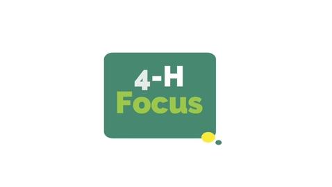 Thumbnail for entry 4-H Focus - Jamie Boas