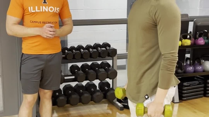 Thumbnail for channel Campus Rec - Exercise Form_ Progressions_ and Regressions