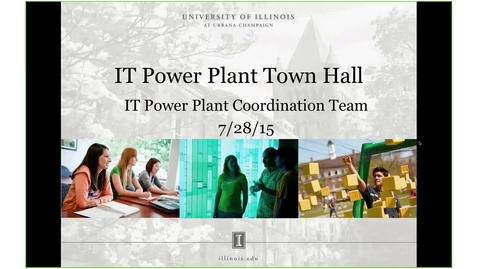Thumbnail for entry IT Power Plant Town Hall  2015-07-28