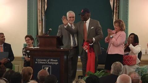 Thumbnail for entry Introduction of Chancellor Robert J. Jones