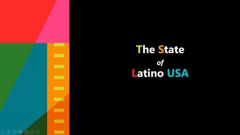 Thumbnail for entry The State of Latino USA - Christopher Ackerman-Avila